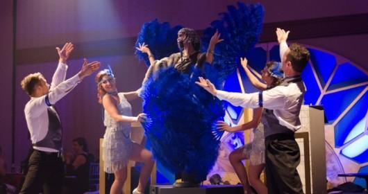 GATSBY Quatre danseurs et une voix